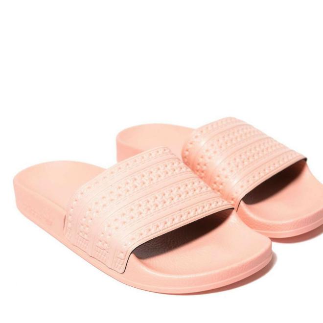 adidas-adilette-claquette-slides-corail-originals
