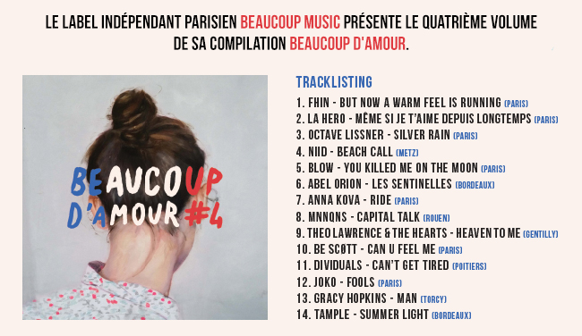 Beaucoup d'amour tracklisting