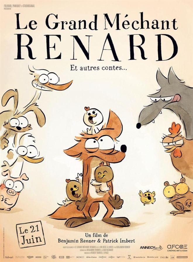 Le Grand Mechant Renard affiche