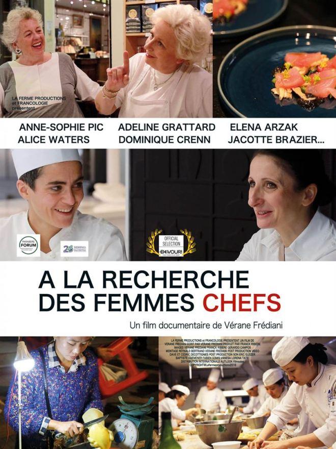 Les femmes chef affiche
