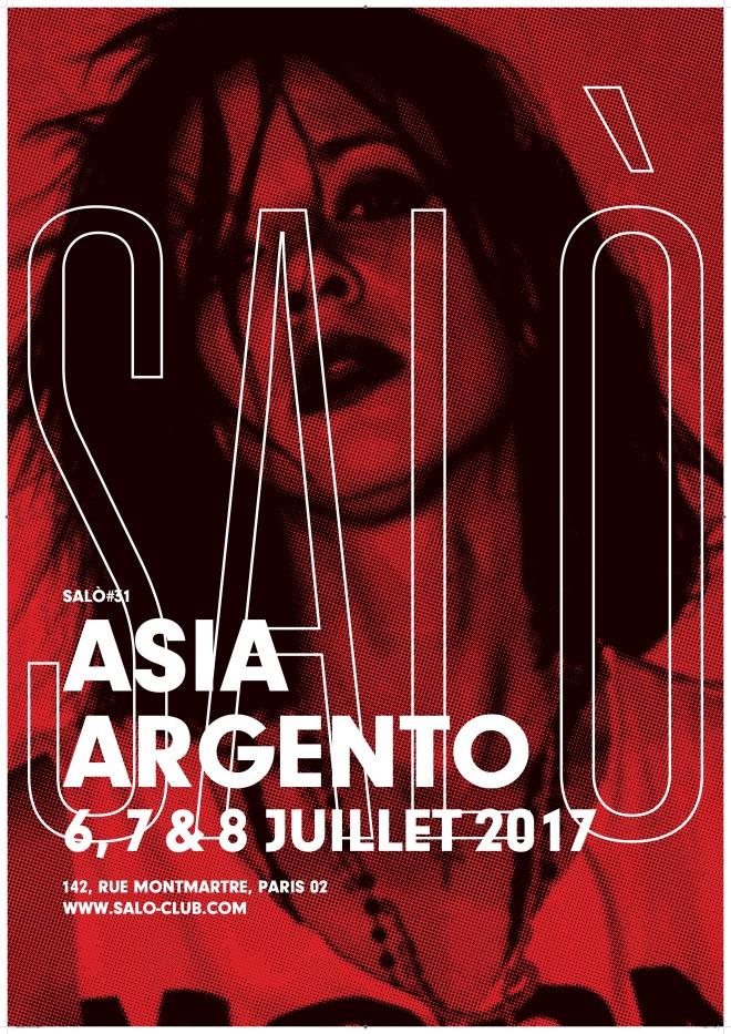 SALO #31 POSTER Asia Argento