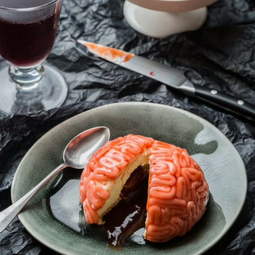 Recette-halloween-facile-dessert-cervelle-vanille-fraise