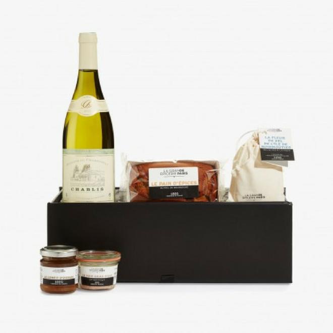 Corbeille-tradition-française-la-grande-epicerie-cadeau-noel-gourmand
