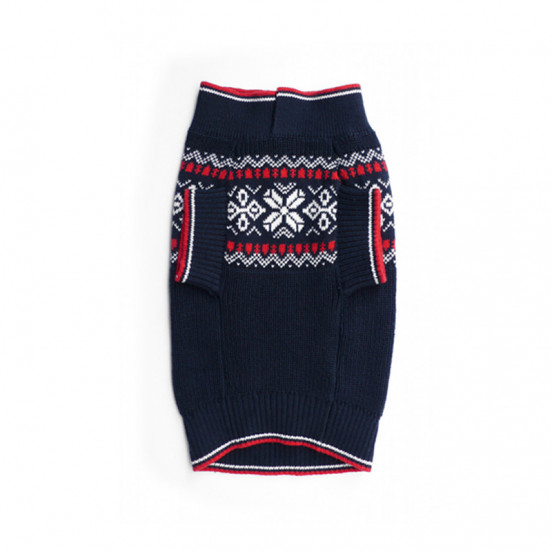 pull-over-jacquard pour chien