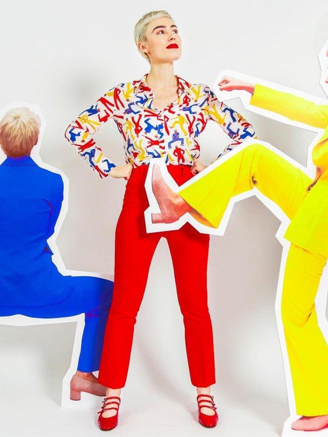 chemise-soi-x-elsa-muse photo marque soie