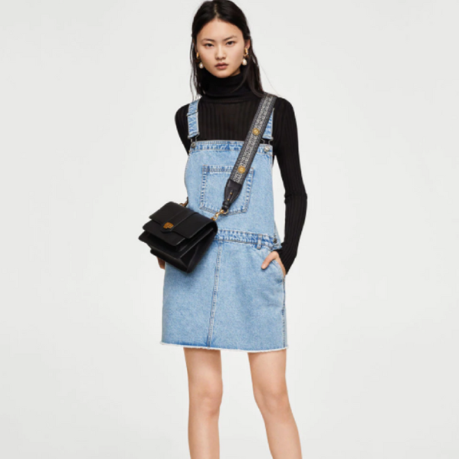 robe-jean-salopette-mango-courte-denim