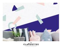 Les Claquettes papier peint magnétique décoration10