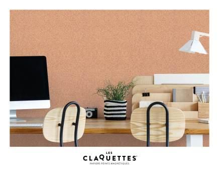 Les Claquettes papier peint magnétique décoration12