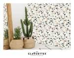 Les Claquettes papier peint magnétique décoration8