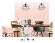 Les Claquettes papier peint magnétique décoration9