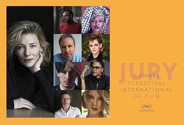Jury compétition officielle Cannes 2018