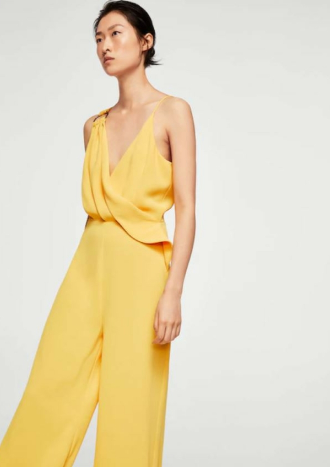 tenue-mariage-invite-femme-combinaison-pantalon-mango-jaune