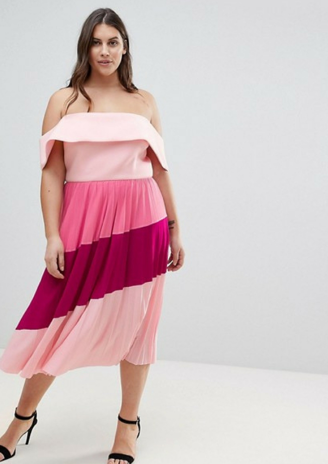 tenue-mariage-invite-femme-robe-asos-curve-grande-taille