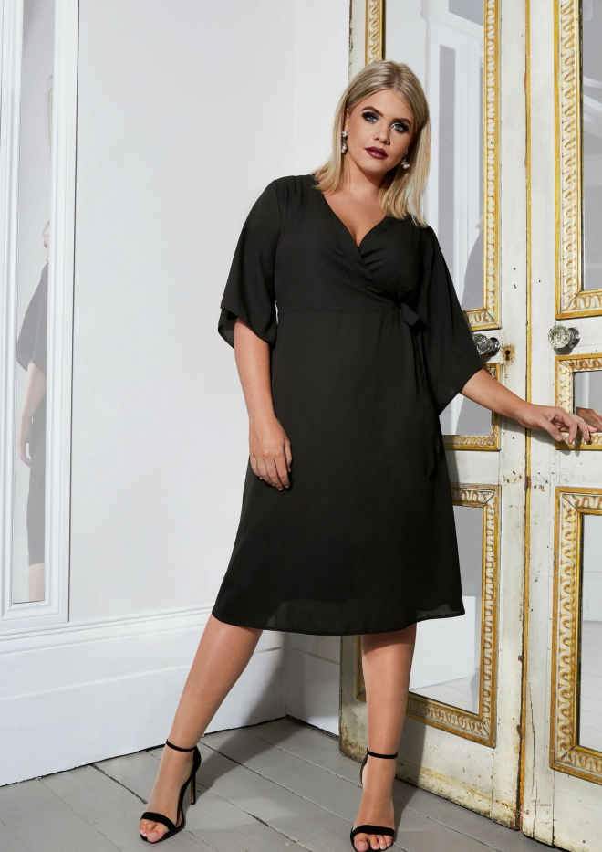 tenue-mariage-invite-femme-robe-yours-london-grande-taille