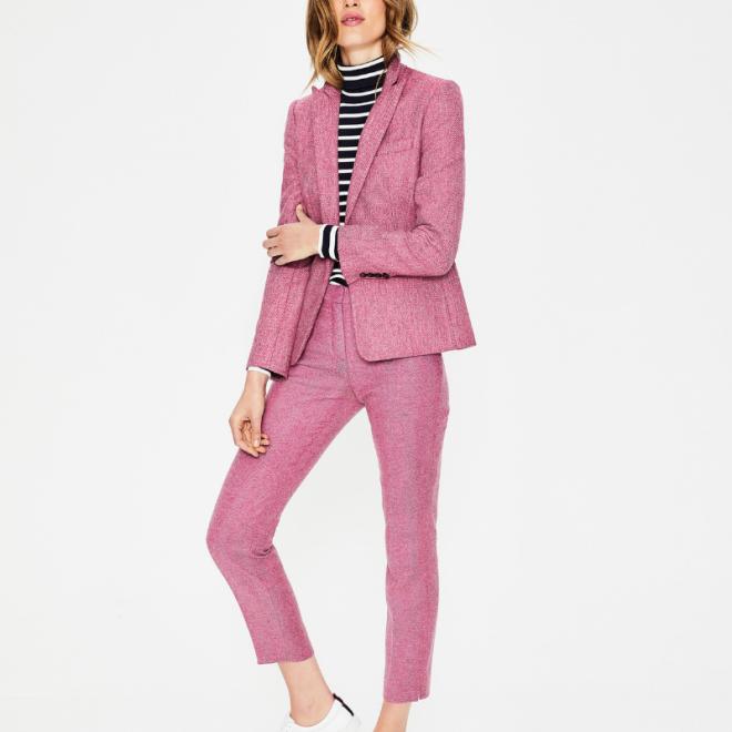 costume-tailleur-pantalon-femme-boden-tweed-rose