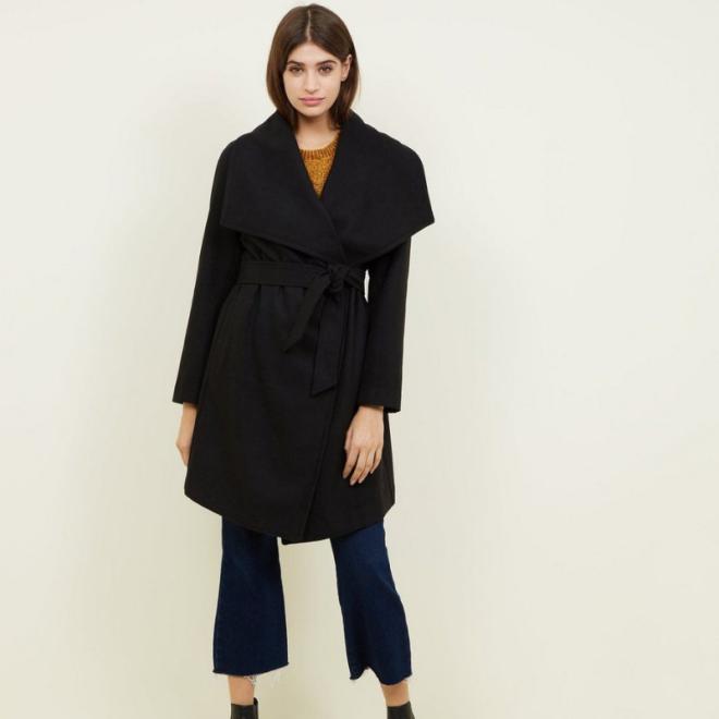 manteau-new-look-noir-ceinture