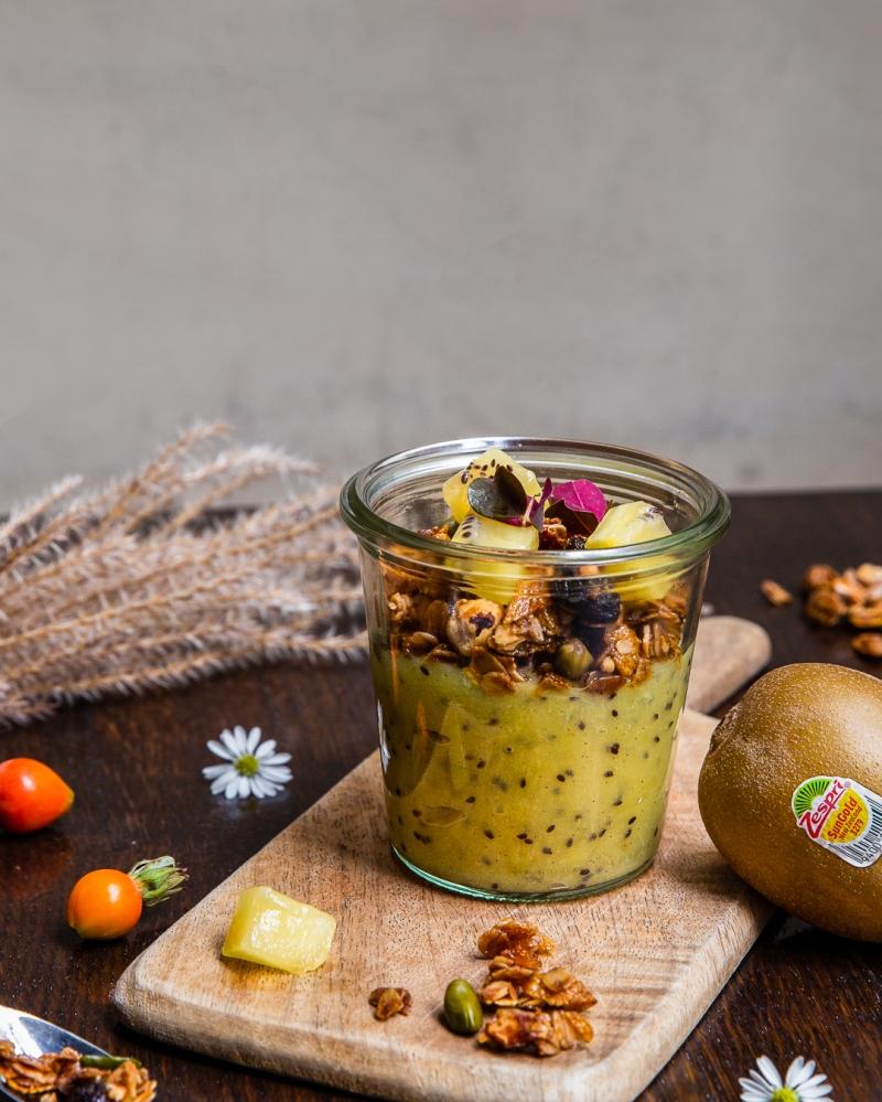 Zespri Compote de kiwi et granola