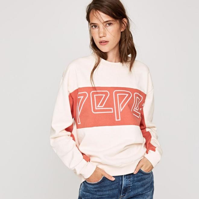 pantone-2019-living-coral-pull-pepe-jeans