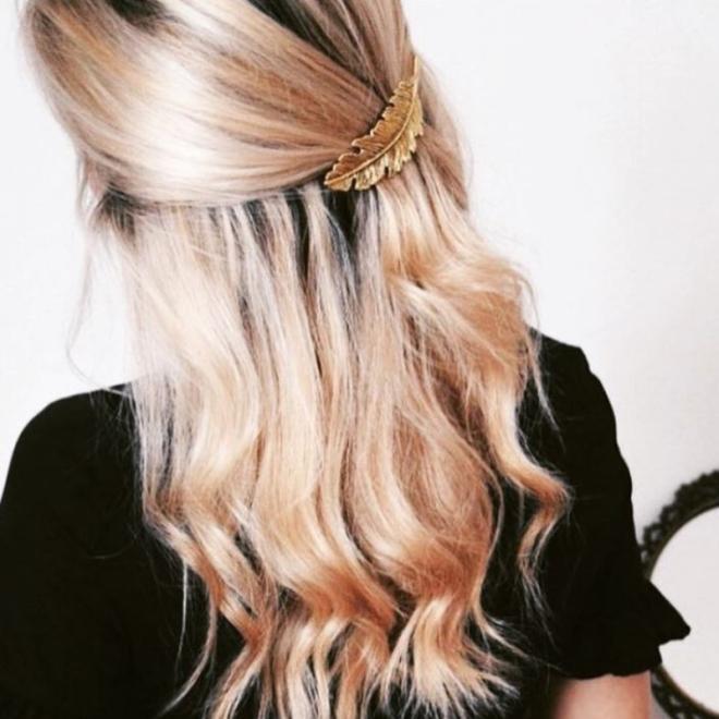 barrettes-pince-cheveux-or-plume-bohomane