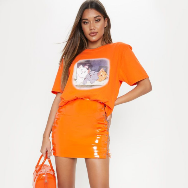t-shirt-prettylittlething-aristochats-orange.png
