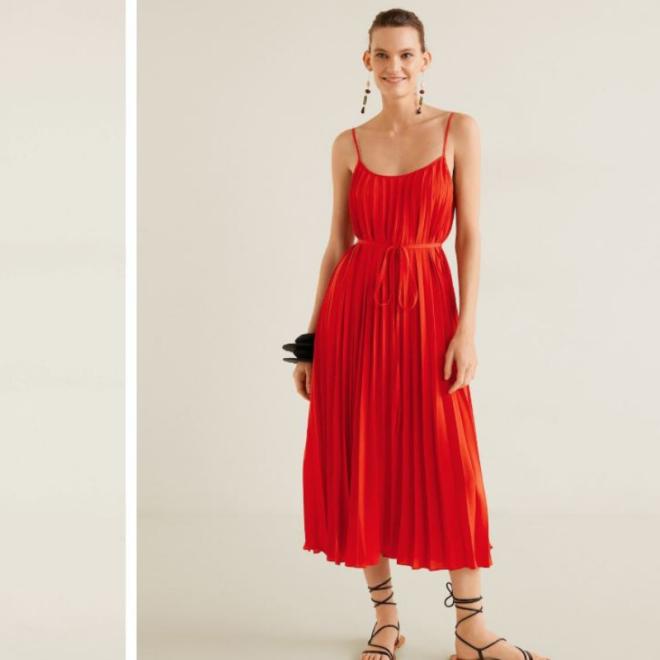tenue-robe-invitée-mariage-rouge-mango