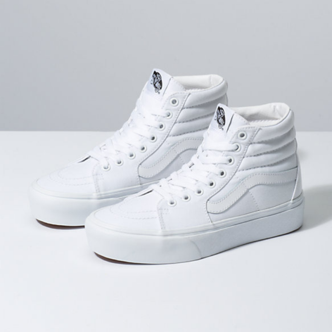 sneakers-basket-blanches-ete-Sk8-Hi Platform 2.0-vans