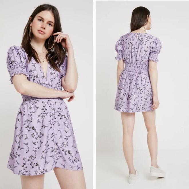 tendance-lilas-mauve-mode-keepsake-robe-mini-fleurs