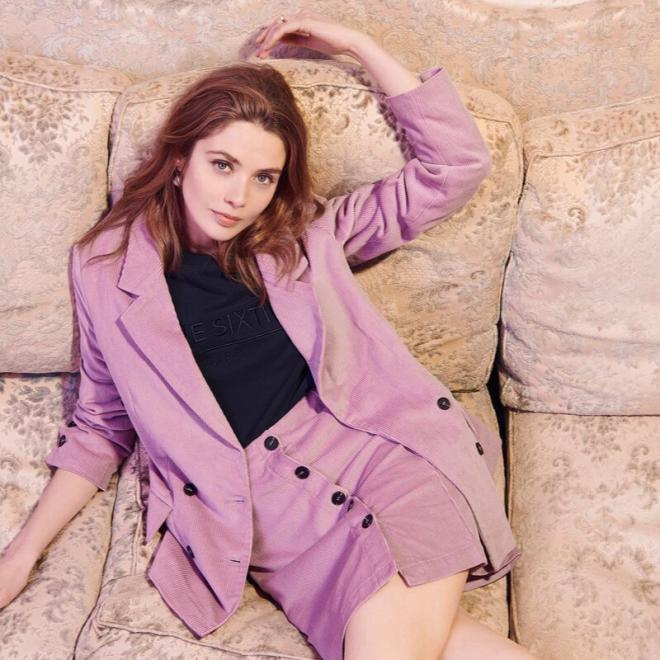 tendance-lilas-mauve-mode-mariesixtine-jupe-veste-velours