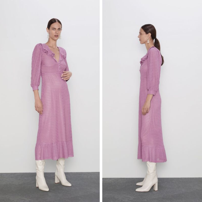 tendance-lilas-mauve-mode-zara-robe-longue