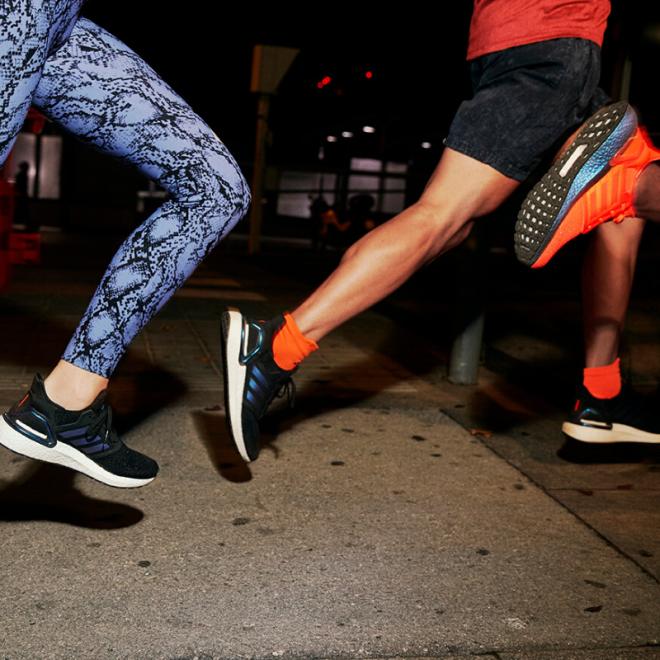 tenue-de-sport-femme-tendance adidas-boost-20-upcycling