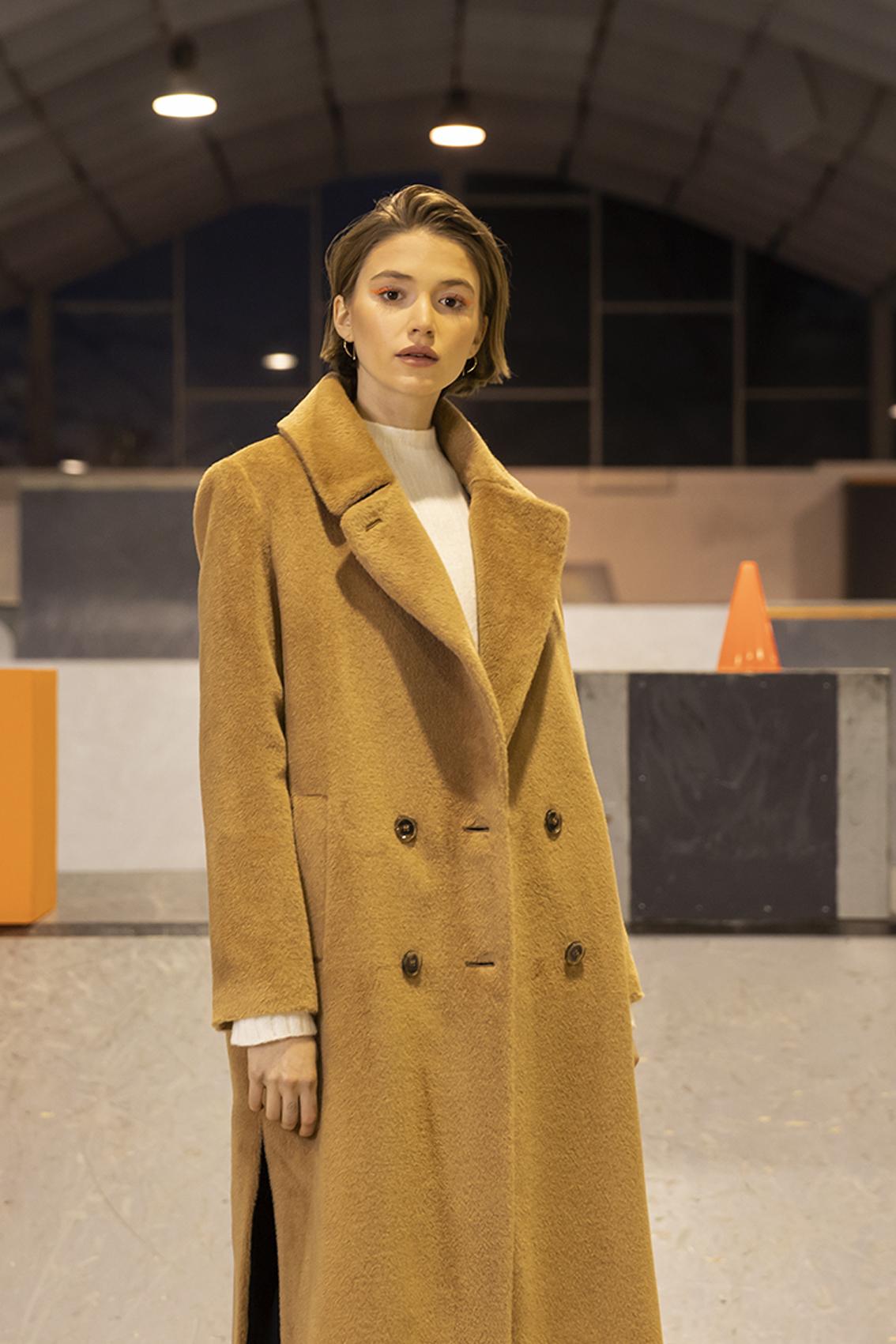 maison lener manteau en laine