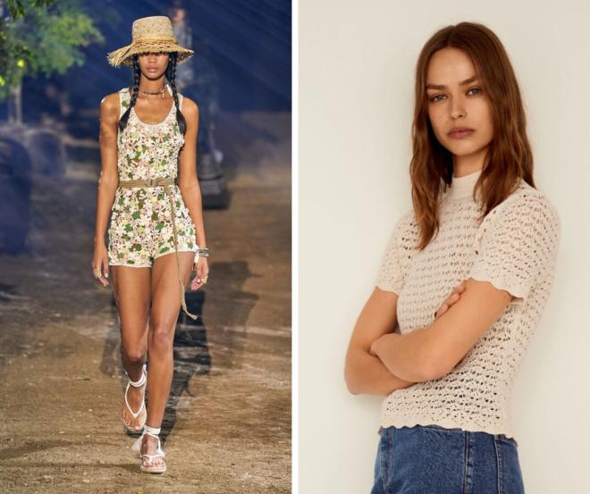 tendance-mode-printemps-ete-2020-defilé-look-crochet-dior-zara